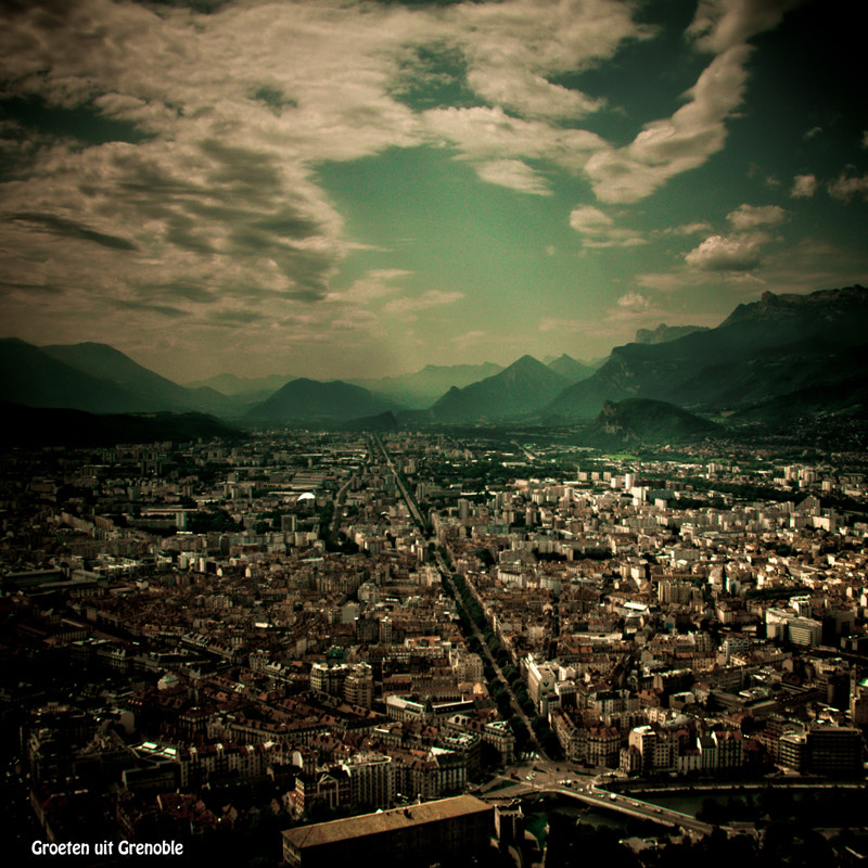 Photograph View over Grenoble by Rob van der Pijll on 500px