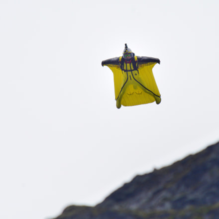 Base Jumping, Nikon D800, AF-S Nikkor 600mm f/4D IF-ED II