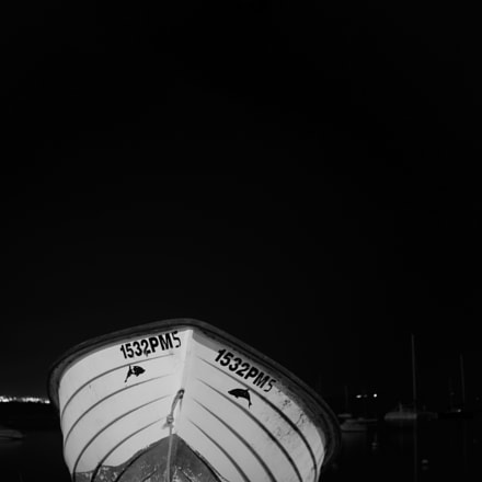 Boat At Night..., Sony ILCE-7, Sigma 30mm F2.8 [EX] DN