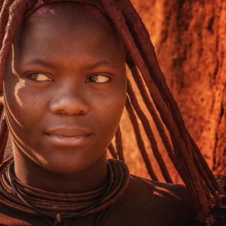 Himba Beauty, Panasonic DMC-G5, Lumix G X Vario 35-100mm F2.8 Power OIS