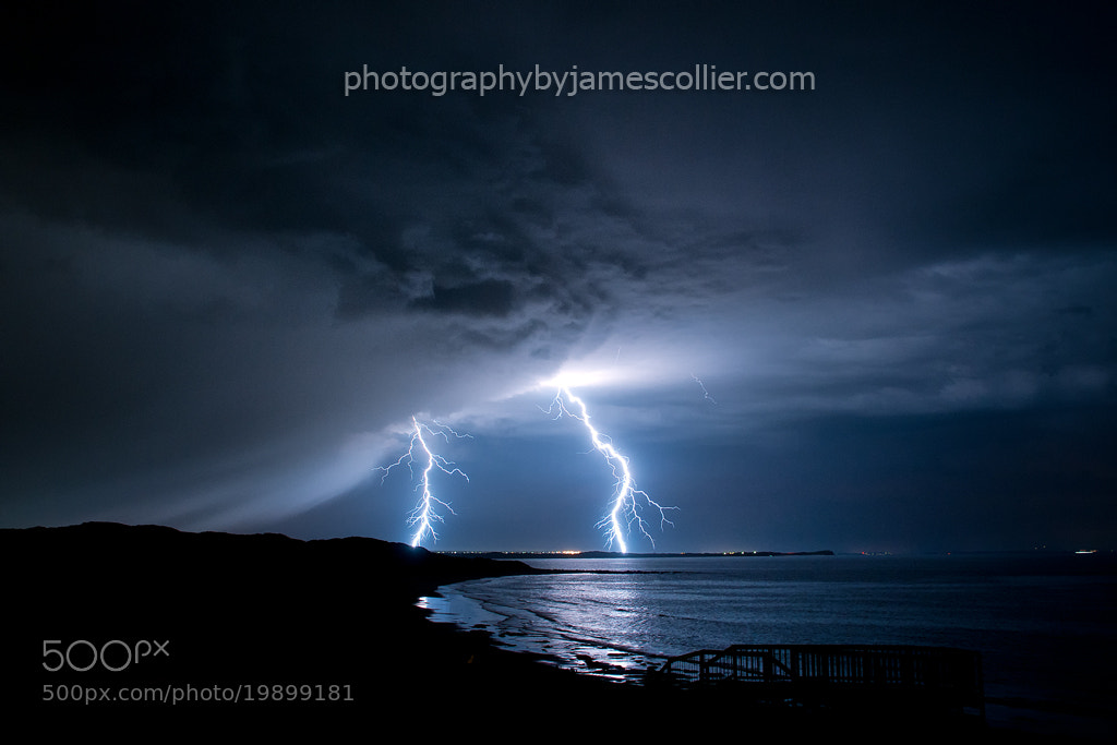 Photograph Bancoora Lightning by James Collier on 500px