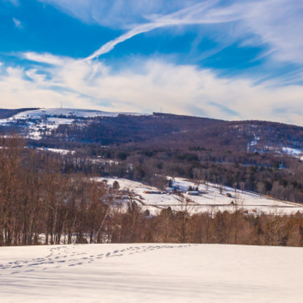 Snow Capped Thunder Hill, Canon EOS 5D MARK II, Canon EF 28-80mm f/3.5-5.6 USM