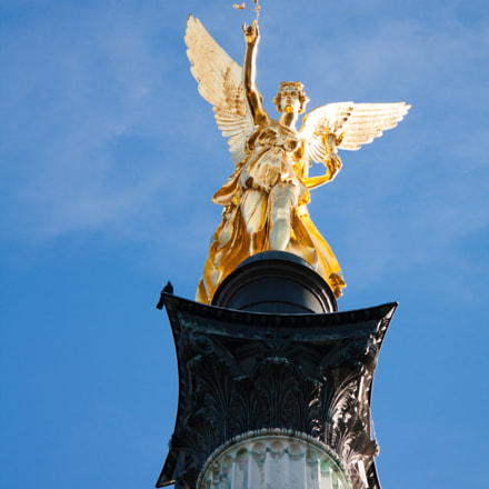 Golden Angel, Canon EOS 450D, Canon EF-S 17-85mm f/4-5.6 IS USM