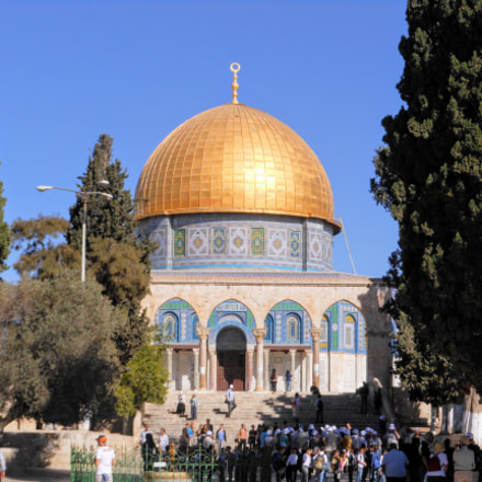Dome of the Rock, Nikon COOLPIX S6100
