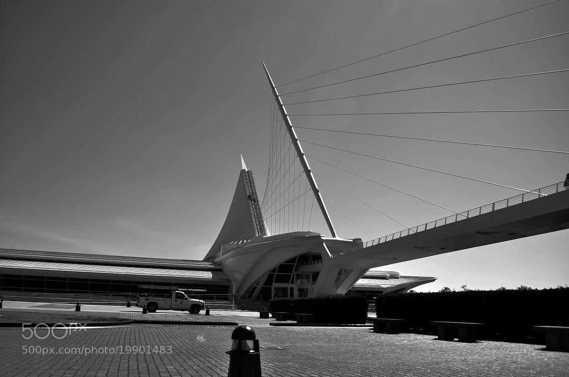 Photograph Milwaukee Art Museum by Zane  on 500px