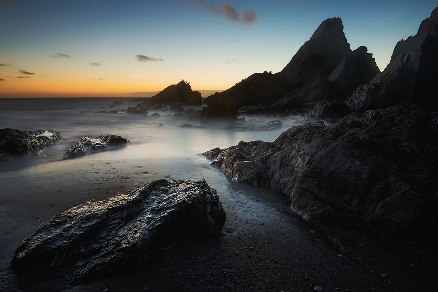 Photograph Westcombe Bay, Devon by Marc Elliott on 500px