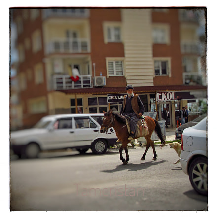 The old rider, his, Canon POWERSHOT SX610 HS