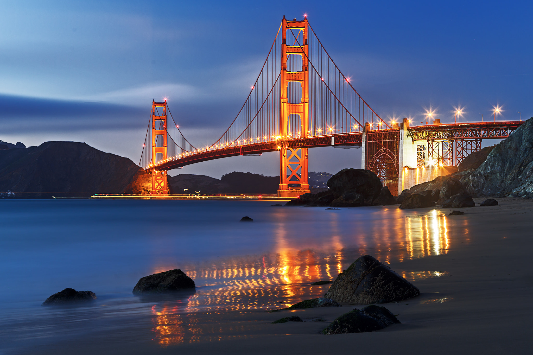 Photograph Golden Gate Bridge: Marshall Beach by KP Tripathi (kps-photo.com) on 500px