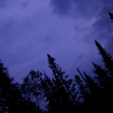 Purple Sky, Nikon COOLPIX L20