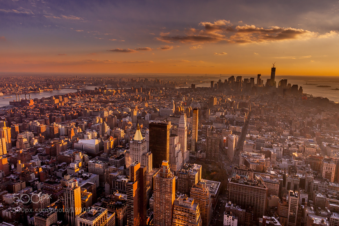 Photograph Lower Manhattan View by Daniel Covaci on 500px