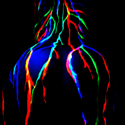 Back bodypainting, Nikon COOLPIX S31