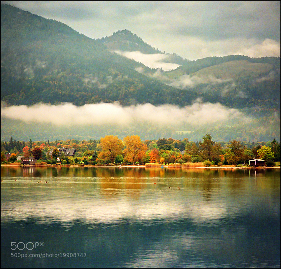 Photograph Autumn on Wolfgangsee by Katarina Stefanović on 500px