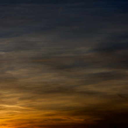Abstract Sunset, Canon EOS 40D, Canon EF 50mm f/1.8 II