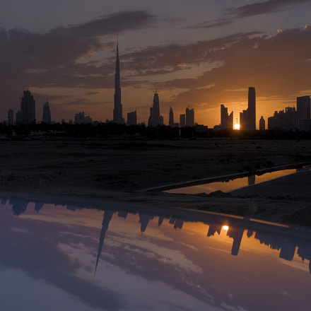 Dubai at sunset, Sony DSC-RX1RM2, 35mm F2.0