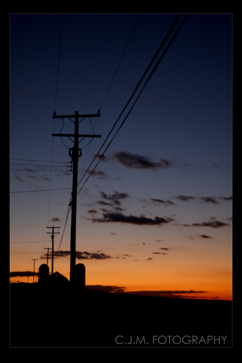 Photograph Silo Silhouette by Christopher Mobley on 500px