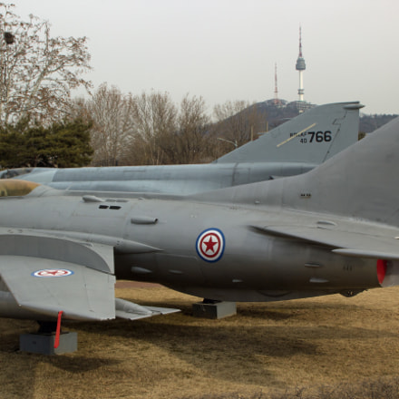 MiG-19, Canon EOS 60D, Tamron AF 18-270mm f/3.5-6.3 Di II VC LD Aspherical [IF] Macro