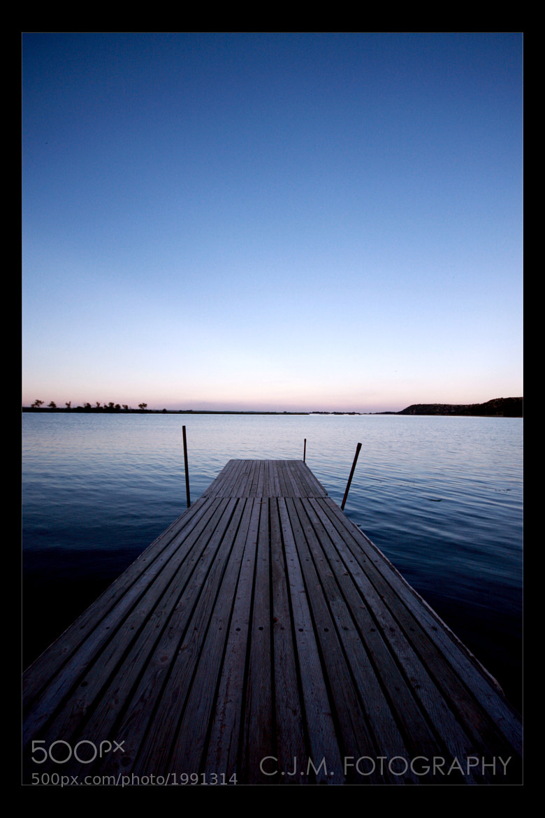 Photograph Blue Dock by Christopher Mobley on 500px