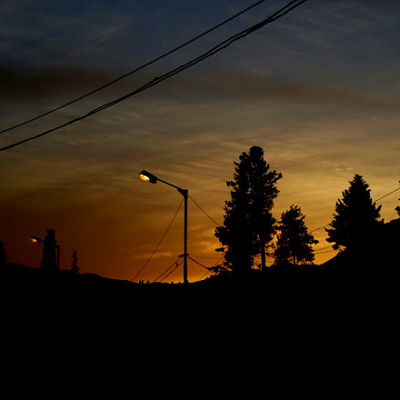 A Scenic evening, Nikon COOLPIX S6300