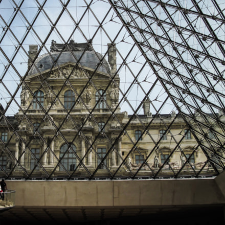 Louvre.Paris, Canon POWERSHOT A2100 IS