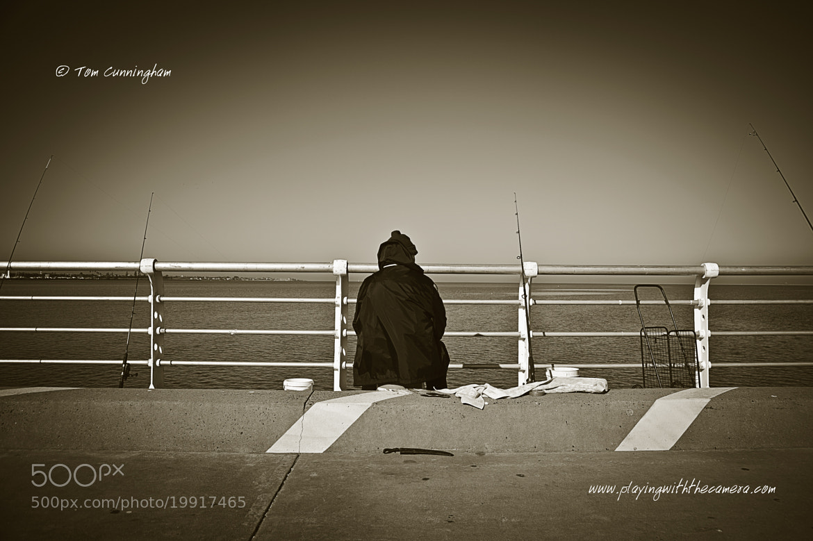 Photograph Portrait: Loneliness Of A Fisherman by Tom Cunningham on 500px
