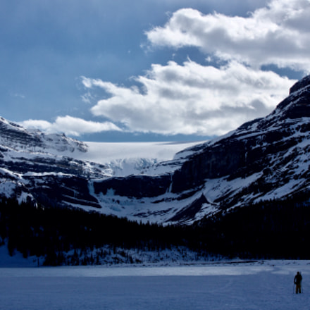 Bow Lake, Canon EOS 5D MARK III, Canon EF 70-200mm f/2.8L IS II USM