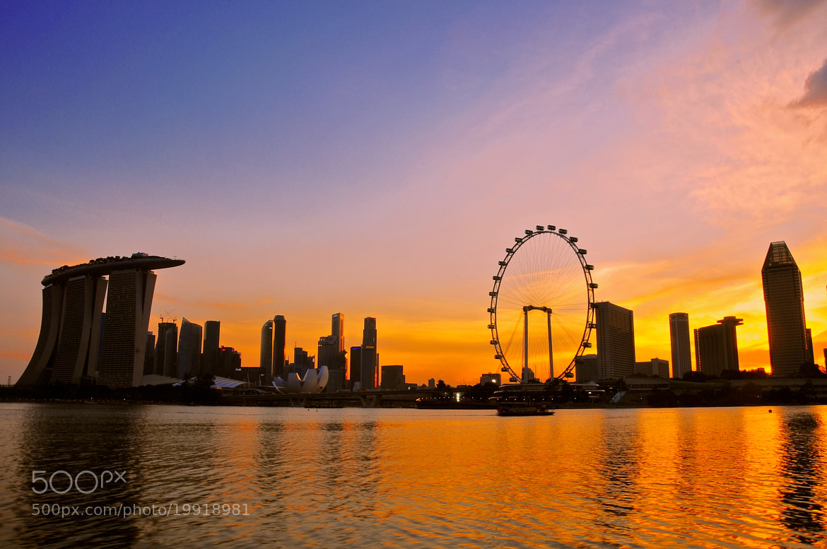 Photograph Marina Bay by Heshan  de Mel on 500px