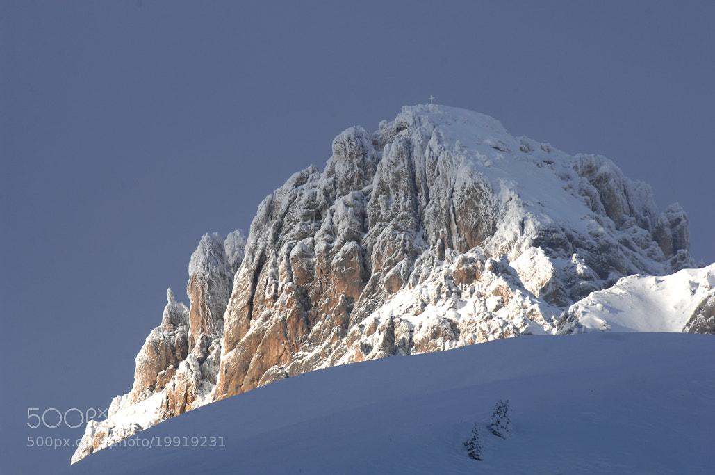 Photograph Blue snow..blue sky by Pierluigi Orler on 500px