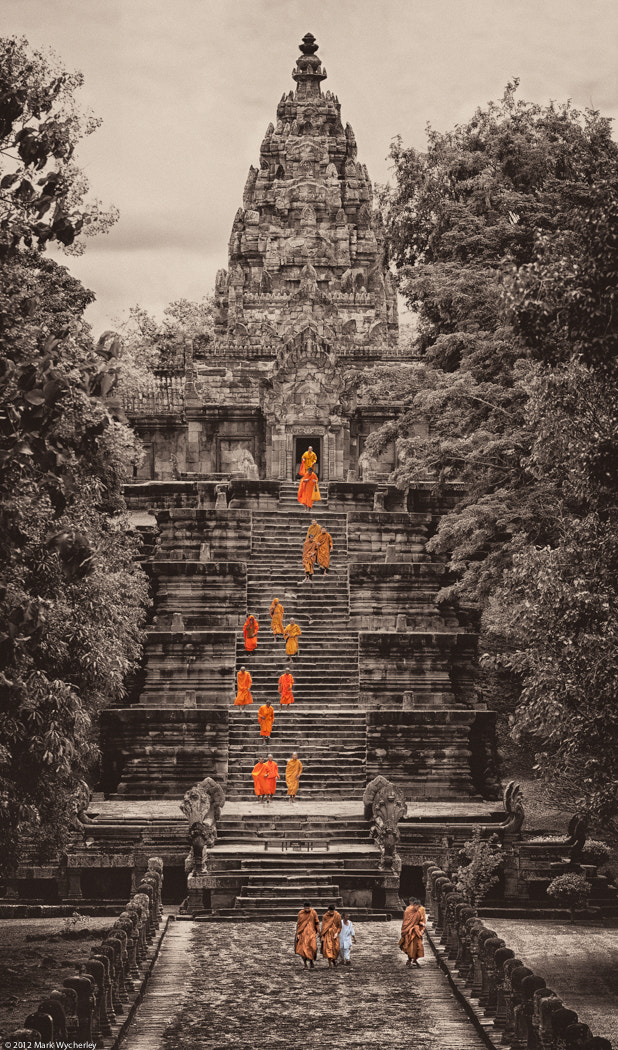 Photograph Monks descent by Mark Wycherley on 500px