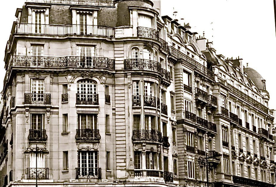 Photograph The Balconies of Paris ( B&W)  by Kevin Haggith on 500px