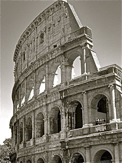 Photograph The Colosseum ( B&W)  by Kevin Haggith on 500px