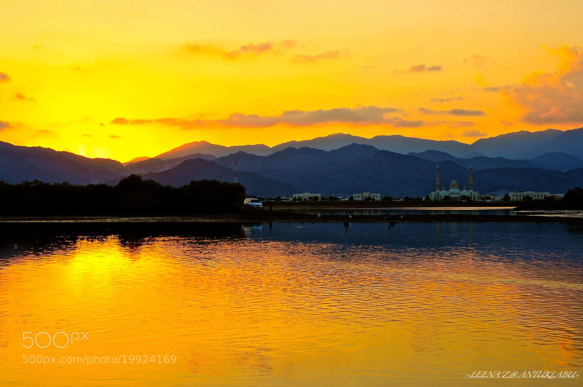 Photograph sunset behind mountains... by Leena'z Anilzam on 500px