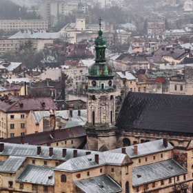 Ukraine,  Lviv by Tanya Obodzinskaya on 500px.com