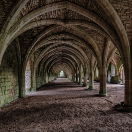 Fountains Abbey Cellerium, Canon EOS 5D MARK III, Canon EF 16-35mm f/4L IS USM