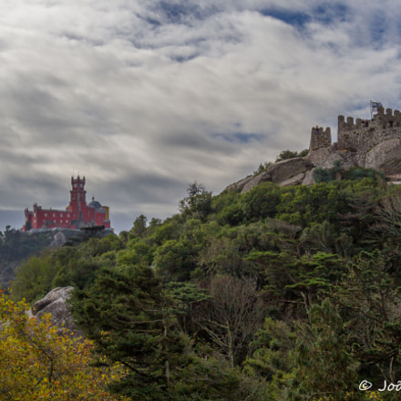 A castle & a palace, Canon EOS 60D, Canon EF-S 17-85mm f/4-5.6 IS USM