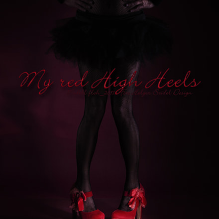 My Red High Heels , Canon EOS 50D, Sigma 18-250mm f/3.5-6.3 DC OS HSM