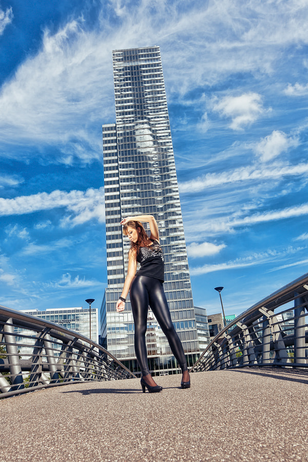 Photograph Girl On A Bridge by thinking pixels on 500px