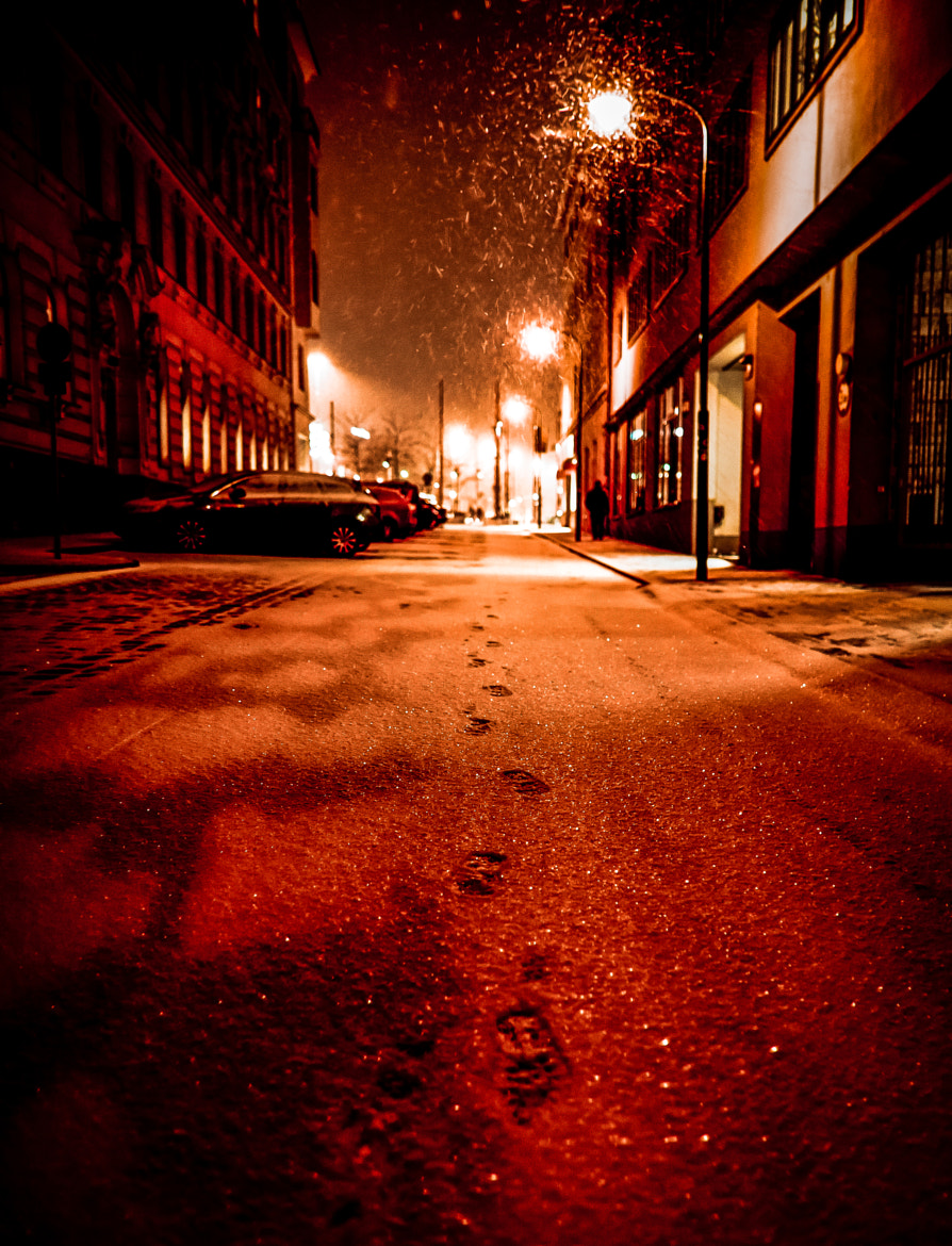 """Photograph """"Lonely Steps In A Burning Winter's Night II"""" by Matthaeus Anton Schmid on 500px"""