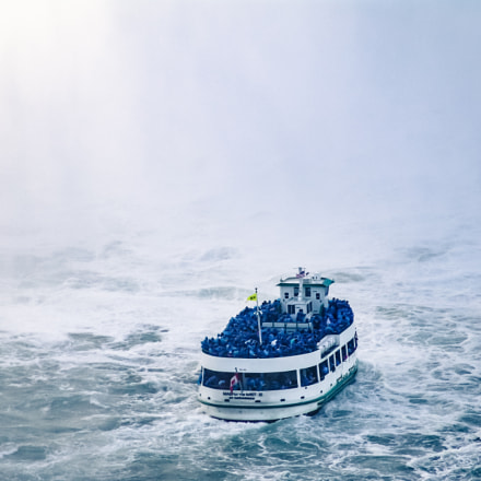Maid of the Mist, Sony DSC-F828
