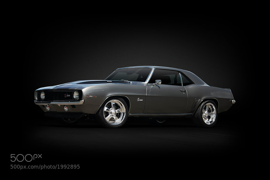 A gorgeous 67 Camaro Coupe built by The Iron Garage.