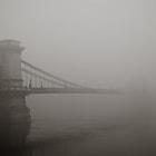 Foggy brigde in Budapest