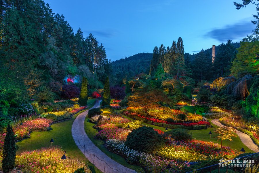 Photograph The Butchart Gardens by Flynn L. Son on 500px