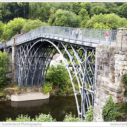 The Iron Bridge at, Canon EOS 5D, Canon EF 24-105mm f/4L IS