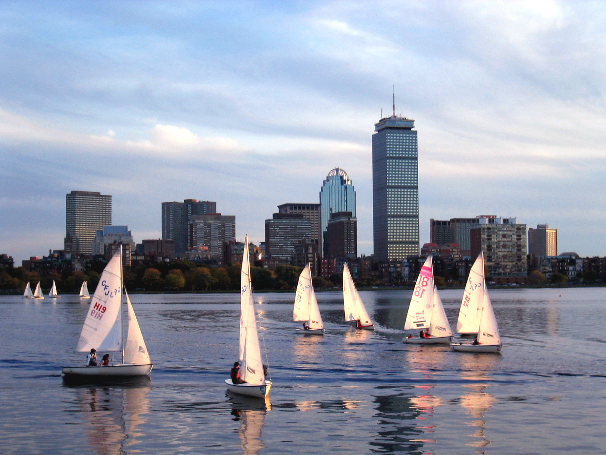 Photograph Sailing on Charles River by Dana Pavel on 500px