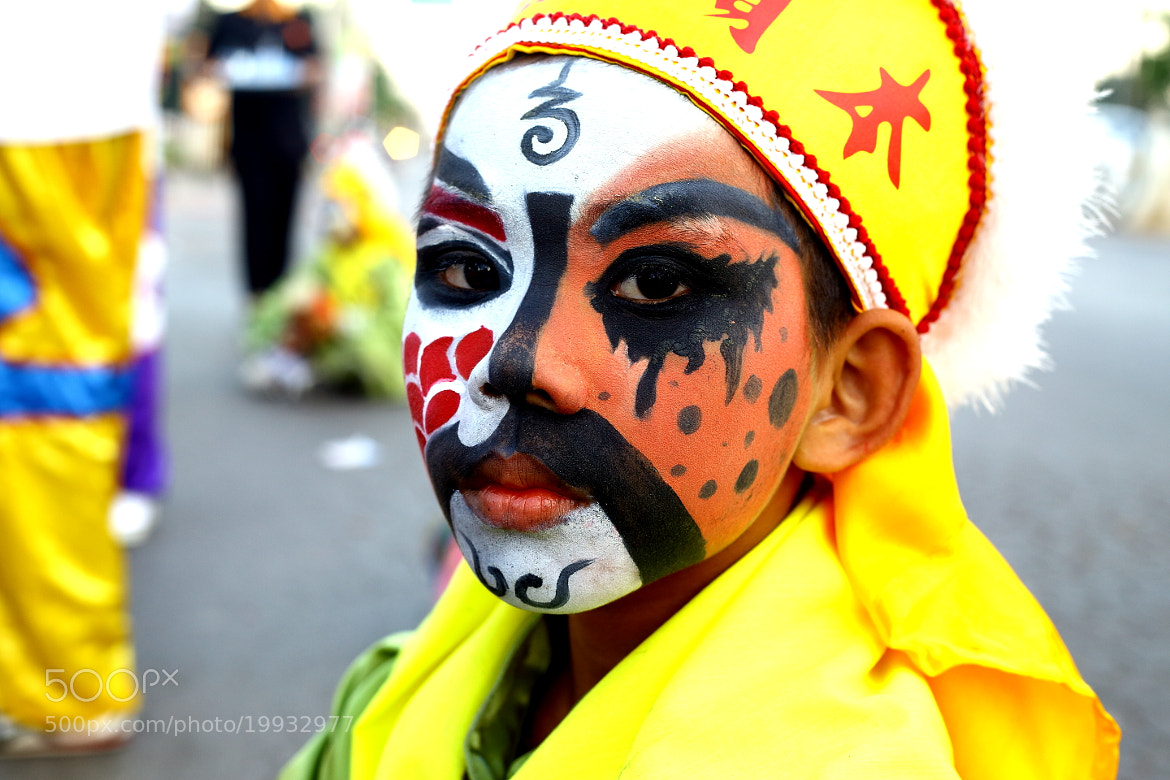 Photograph Little boy, with his face painted by Pucca Pook on 500px