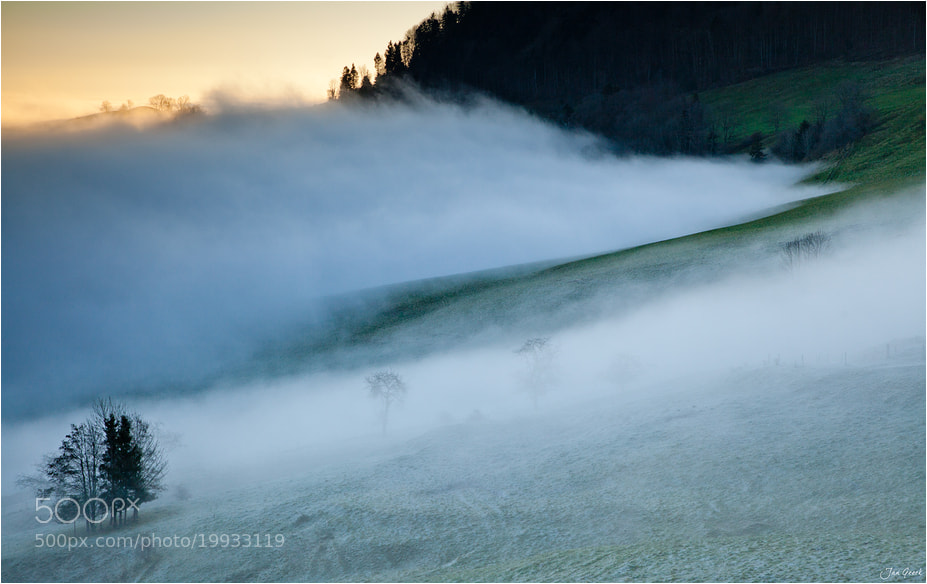 Photograph Waves of Fog by Jan Geerk on 500px