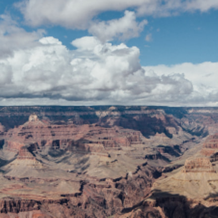 Panorama of Grand Canyon, Canon EOS 6D, Sigma 12-24mm f/4.5-5.6 EX DG ASPHERICAL HSM