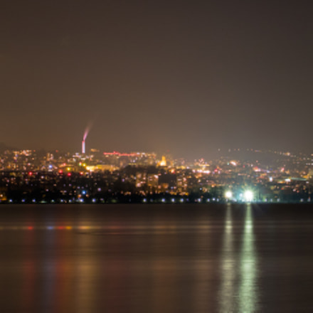 Lausanne by night, Canon EOS 750D, Canon EF-S 18-55mm f/3.5-5.6 IS STM
