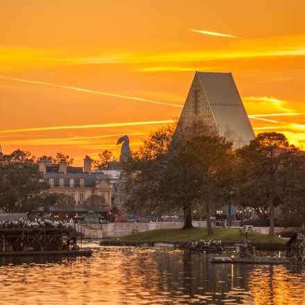 Golden Hour at Disney, Canon EOS 5D MARK II, Canon EF 70-200mm f/2.8L IS II USM