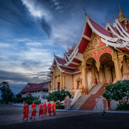 Wat That Luang Neua, Sony NEX-6, E 10-18mm F4 OSS