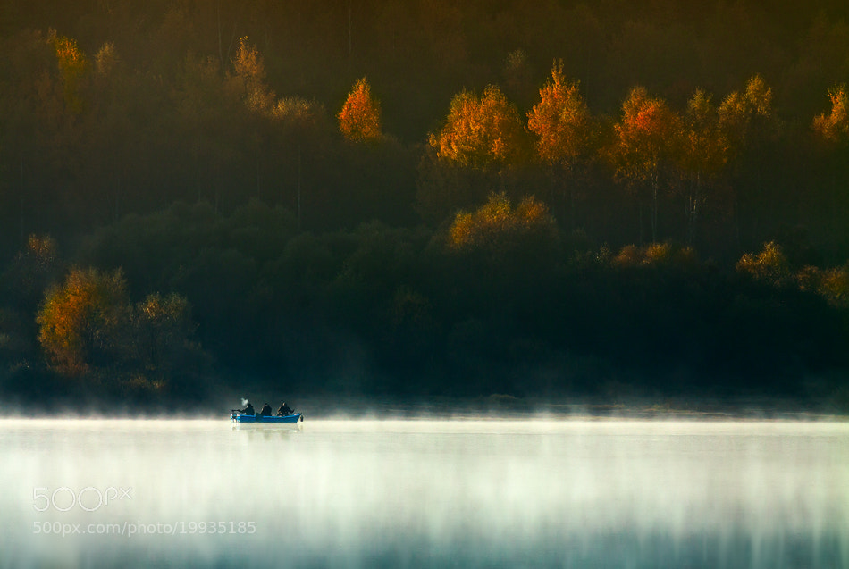 Photograph Three Men in a Boat (To Say Nothing of the Dog) by Izabela i Dariusz Mitręga on 500px